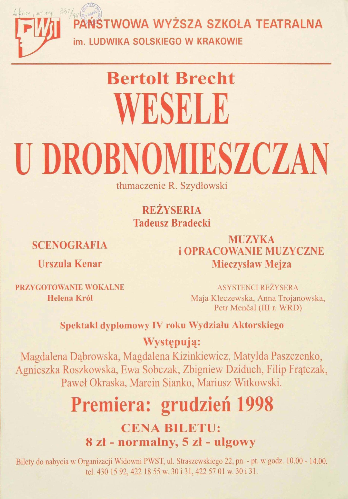 Fotokopia Programu Teatralnego